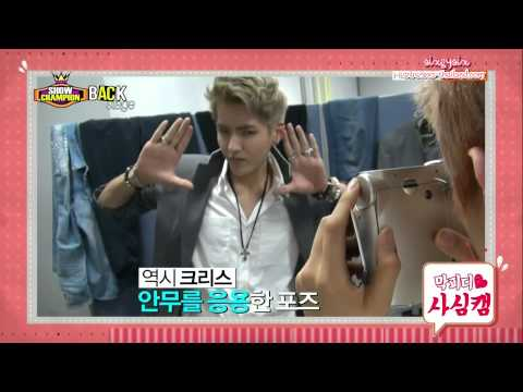 [Thai Sub]130810 EXO - Show Champion Backstage [by sixBYsix]