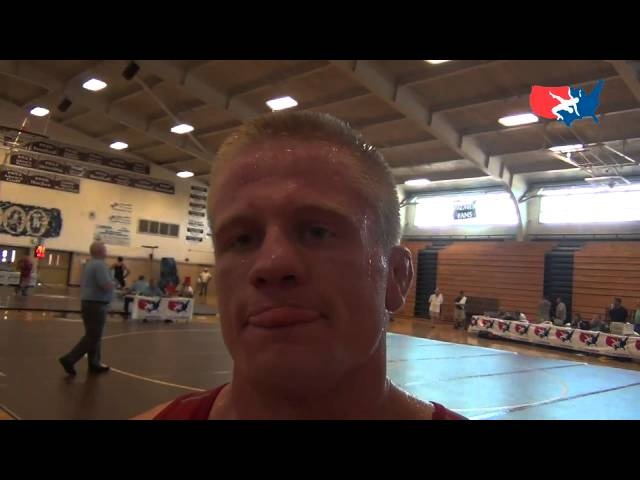 Jon Anderson, University World Team Trials 74 kg Greco-Roman champion