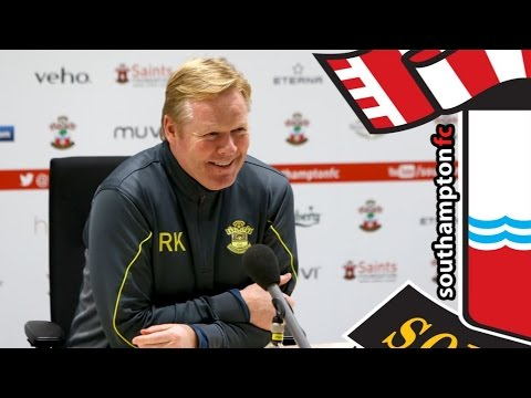 PRESS CONFERENCE: Ronald Koeman pre-QPR
