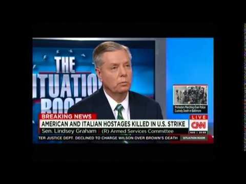 Graham on U.S. Drone Strikes that Killed American and Italian Hostages, American al-Qaeda Members