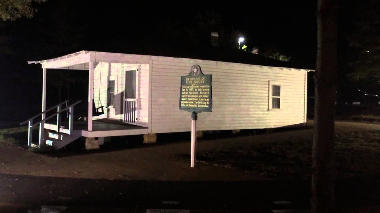 Security Footage Of Ghost At Elvis Presley Birthplace