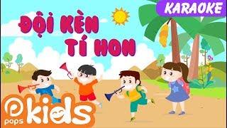 🎤Karaoke Đội Kèn Tí Hon🎺🎼 | Nhạc Thiếu Nhi Cho Bé | Vietnamese Kids Songs