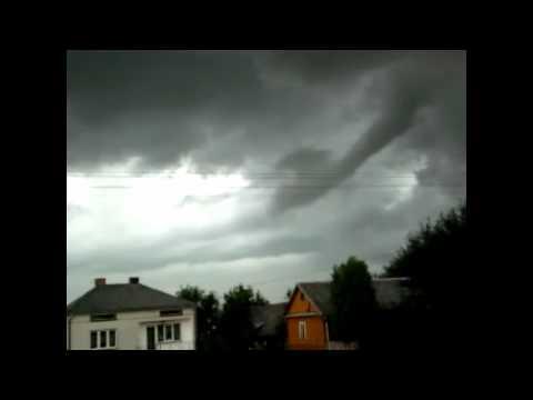 Czy To Była Mała Trąba Powietrzna Na Niebie? Żółkiewka 2011