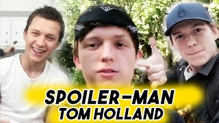 Spoiler-Man Tom Holland - The Ultimate Avengers Dork | Funny Moments