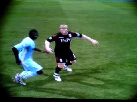 FIFA 12 Mario Balotelli slaps Brede Hangeland [ Why always me? ]