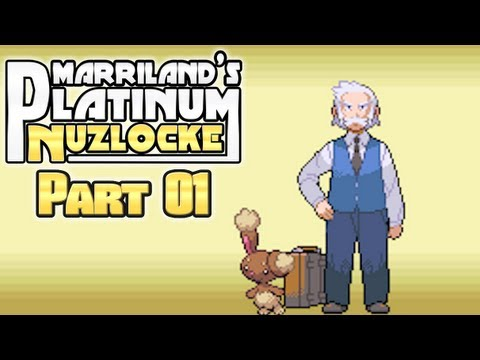 Pokémon Platinum Nuzlocke, Part 01: It's Quiet Time!