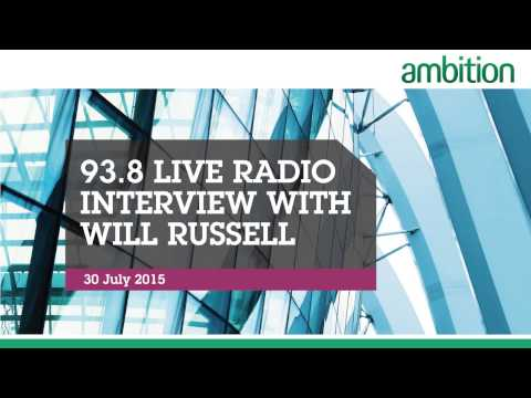 93 8 Live Radio Interview with Will Russell, Director, Ambition Singapore