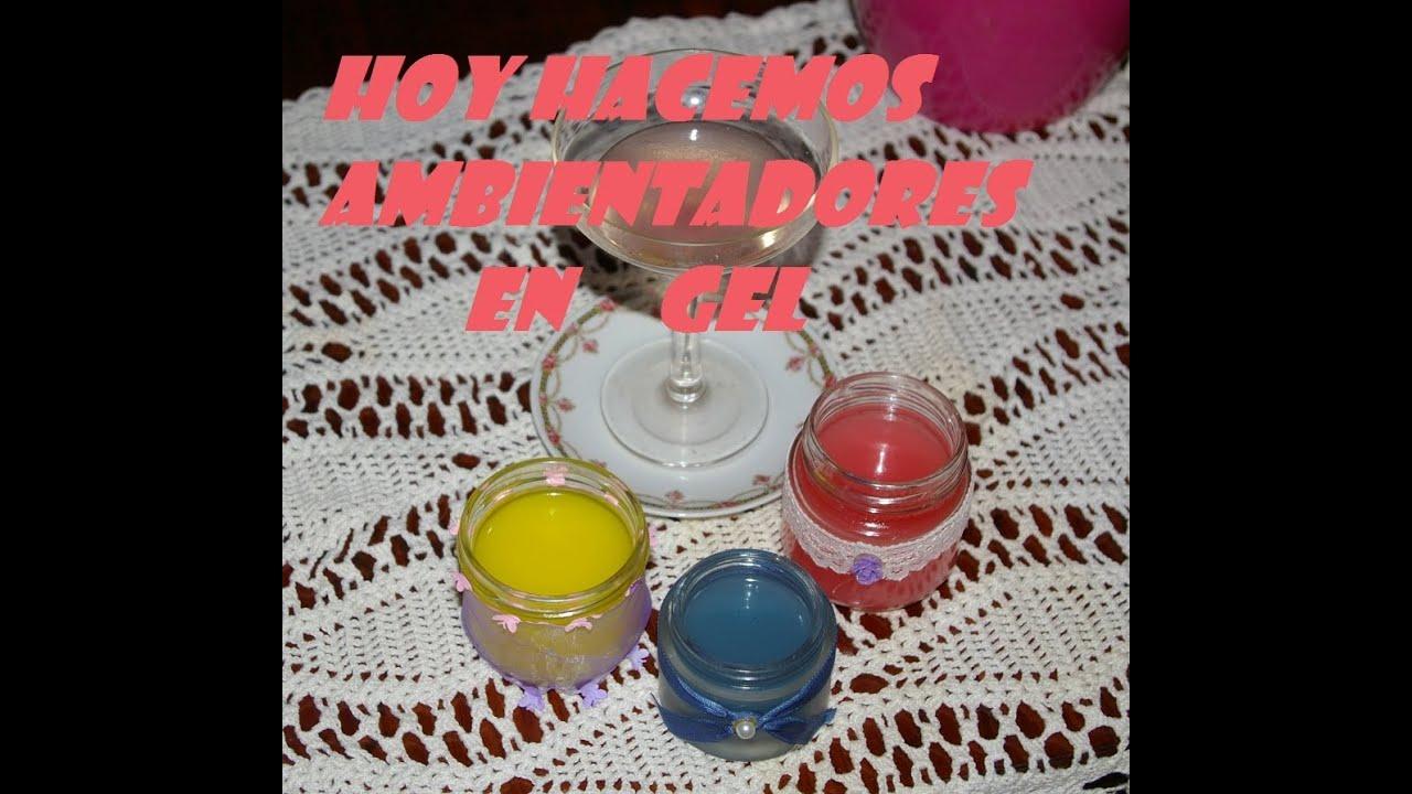 Ambientador de gelatina para casa y armarios youtube - El mejor ambientador para casa ...