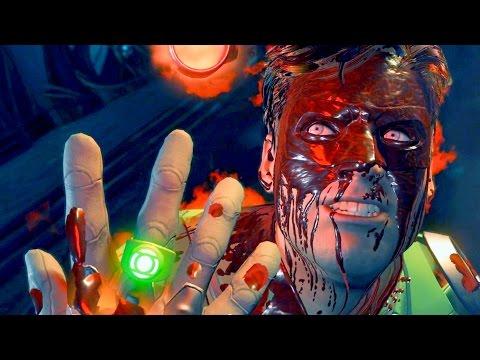 Atrocitus Attempts to turn Hal Jordan into a Red Lantern | INJUSTICE 2
