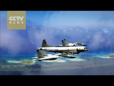 Discussion on Washington's military stunts in the South China Sea