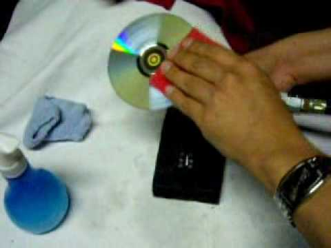 اصلاح ال cd التالف