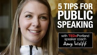 5 public speaking tips from TEDxPortland speaker coach