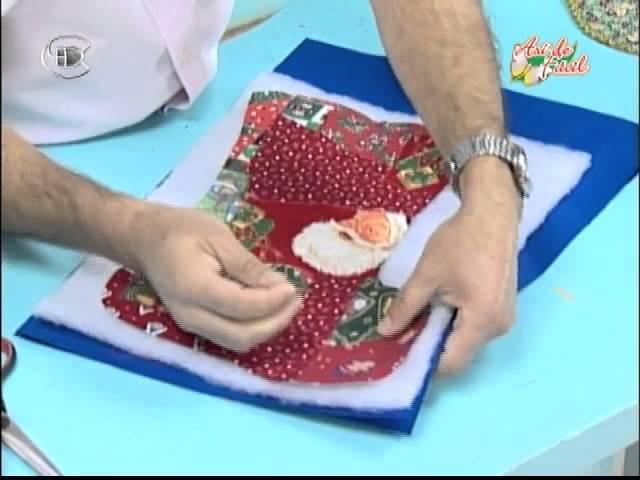 Manualidades Van Gogh - Bota navideña patchwork.avi