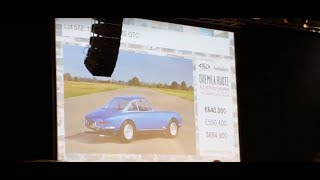 Sotheby's 2000 Ruote Ferrari 365GTC Auction 600k€