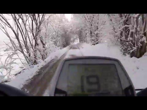 Swiss winter on my ebike