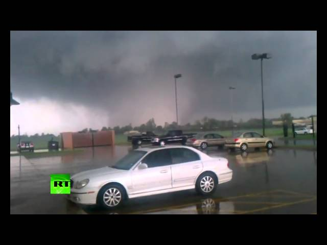 Raw Video: Deadly Oklahoma tornado caught on tape