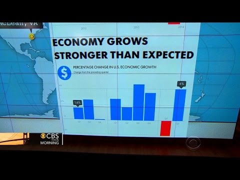 Headlines at 7:30: Gross domestic product grew 4 percent from April to June