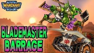 Warcraft 3 - WTii & Sexytime #12 | Blademaster Barrage (2v2 AT #19)