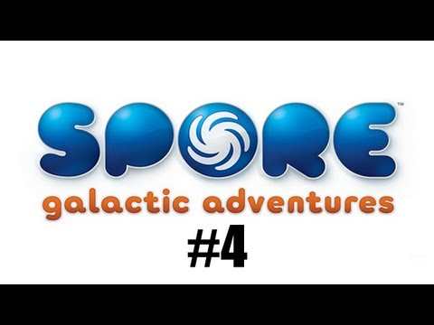 Spore Galactic Adventures Let's Play Commentary   #4 - Migration