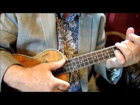 THUMB STROKE PATTERN IN 34 Time - Waltz strum - Tutorial by Ukulele Mike Lynch