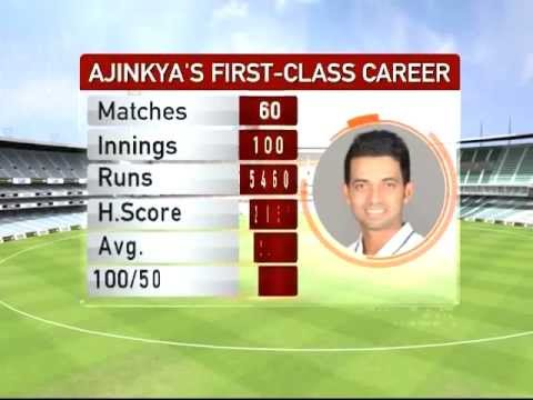 A star in the making: Ajinkya Rahane