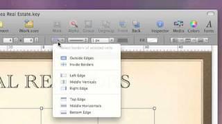 Apple Mac Tutorials - Keynote  09
