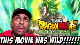 BLEW MY MIND!!! | Dragon Ball Super Broly| MOVIE REVIEW