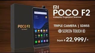 MI Poco F2 | Flagship Killer, Specifications, Camera, Performance, Look, Price, Launch Date