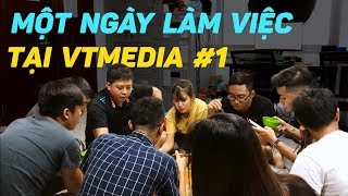 VLOG  1 ngày làm việc tại trụ sở VTMedia #1