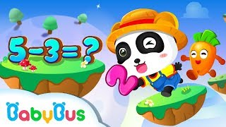 Baby Panda Math Farm | Learn Math for Kids | Learn Number | Kids Games | Game Trailer | BabyBus Game