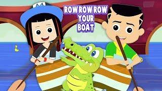 hàng hàng hàng thuyền của bạn   vần điệu trẻ việt   Row Row Row Your Boat   Kids Tv Vietnam