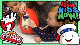 Stay Puft Play Doh Surprise Egg! Ghostbusters!