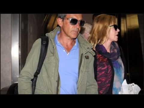 Melanie Griffith Snaps Shirtless Antonio Banderas on Vacation - (2014)