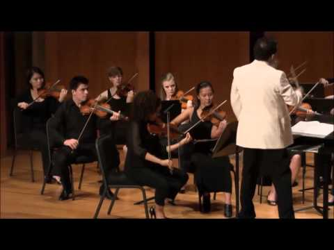Mozart Divertimento K136 in D major, Max Levinson conducting the Foulger Chamber Orchestra