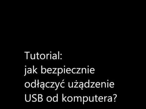 Jak bezpiecznie odłączyć urządzenie USB, Tomasz Sylwestrzak , IC