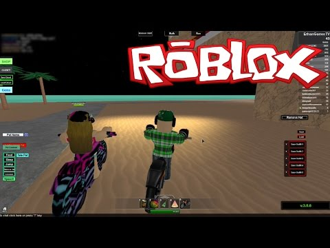 Playing Roblox: Beach House Roleplay (KID GAMING)