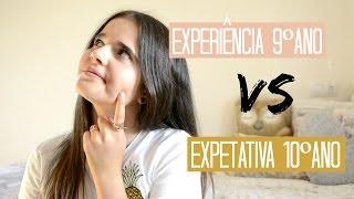 Experiência 9º ano VS Expetativa 10º ano | Beauty By Rita