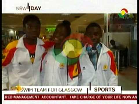 New Day - Discuss Ghana Swim Team at Commonwealth -23/7/2014