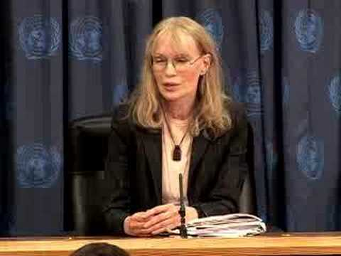 Goodwill Ambassador Mia Farrow highlights plight of CAR...