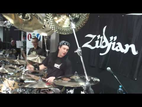 Mike Mangini Clinic Drum Solo- Poland2013