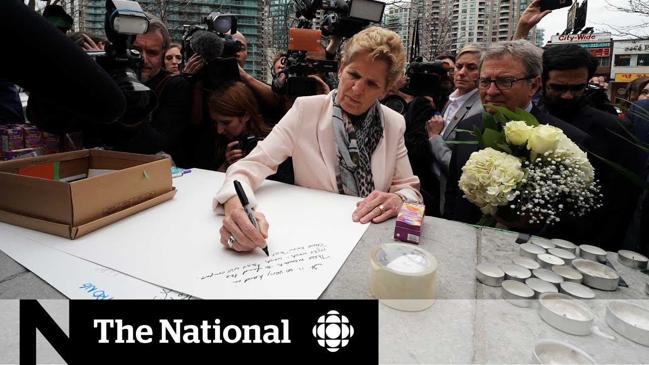 Ontario Premier Wynne on the van attack, the vigil, and preventing future incidents