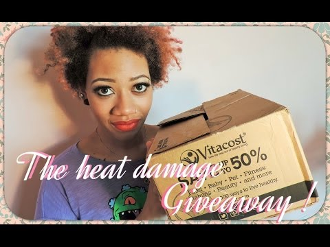 Inspiration! Heat Damage to Healthy, Beautiful Hair | GIVEAWAY -CLOSED-