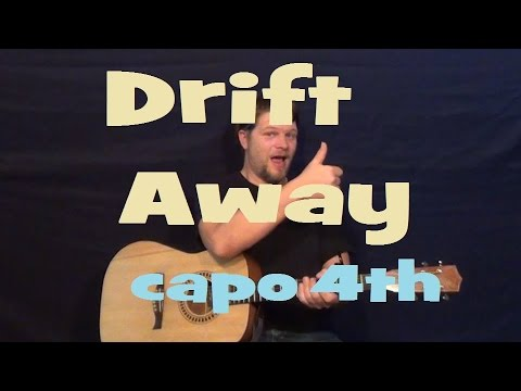 Drift Away (Uncle Kracker) Easy Strum Chord Licks Guitar Lesson How to Play Drift Away Tutorial