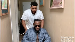 Doctor Kevin gates and Deontay Wilder  Dj khaled at the hospital after the fight Parody