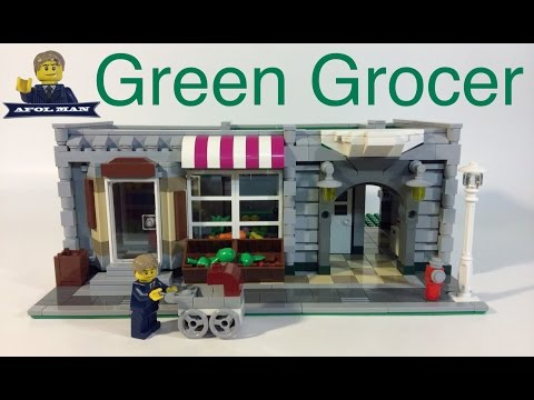 BUILDING THE LEGO GREEN GROCER ( 10185 ) PIECE BY PIECE Update 1