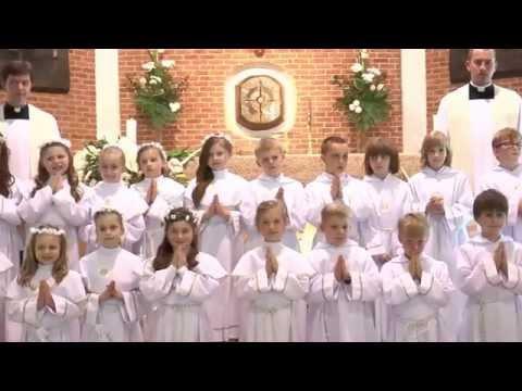 Pierwsza Komunia Świeta 2014 parafia św. brata Alberta gdańsk