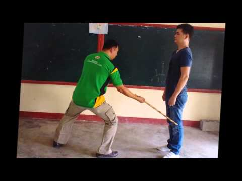 12 Basic Strikes in Arnis Image 1