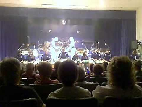 """Magnolia High School (WV) Percussion Ensemble 2009 Djembe """"Aconcon/Timini"""""""