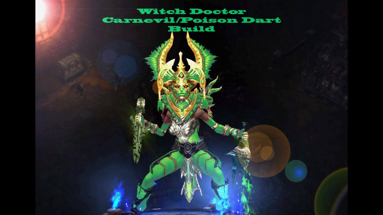 Witch Doctor Diablo  Build