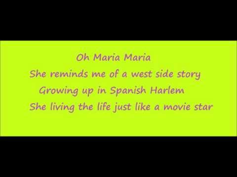Carlos santana maria maria lyrics metrolyrics - Jhene aiko living room flow lyrics ...